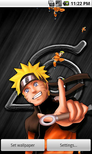 Naruto Anime Live Wallpaper HD   Android Market 307x512