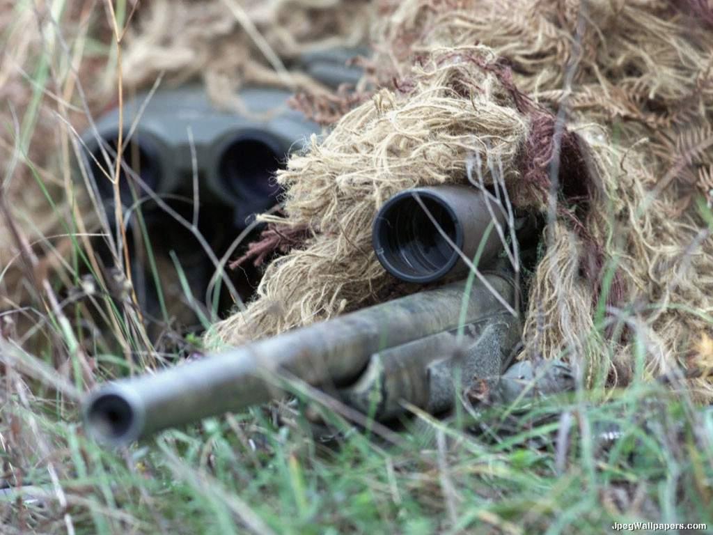M40 Sniper Rifle wallpaper 1024x768