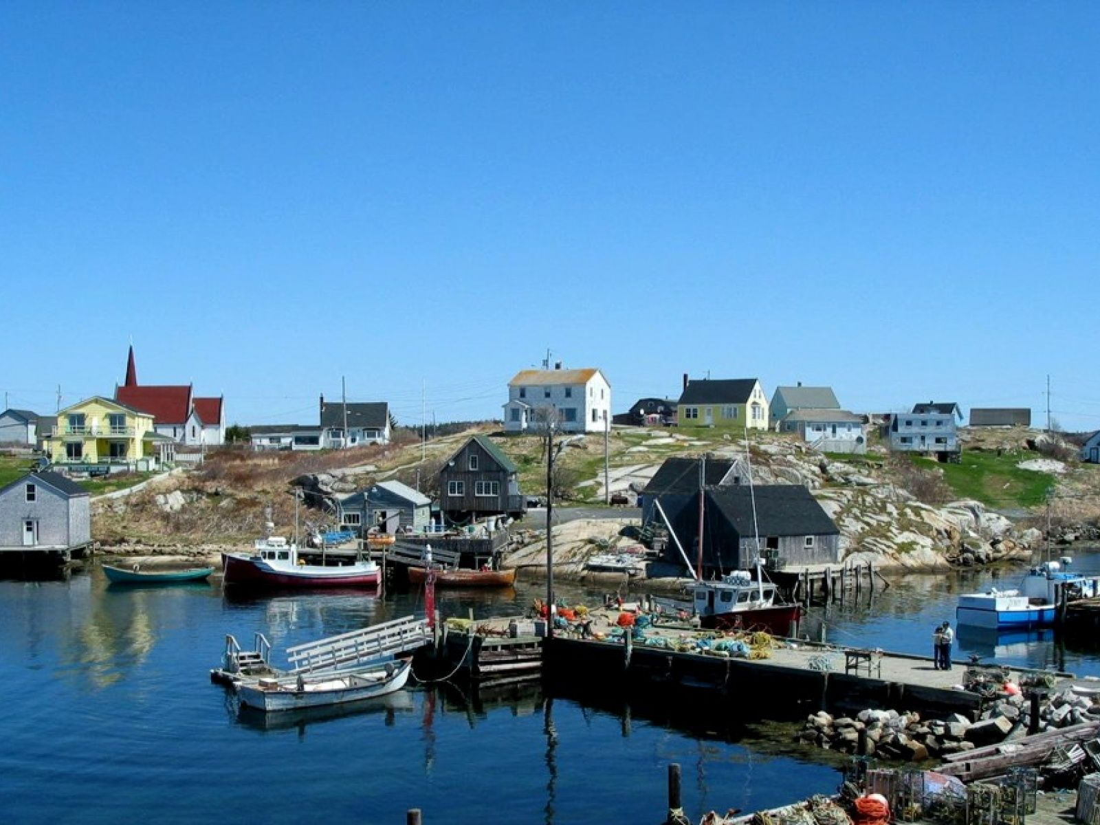 Clear Blue Sky 2 WallpapersNova Scotia Wallpapers Pictures 1600x1200