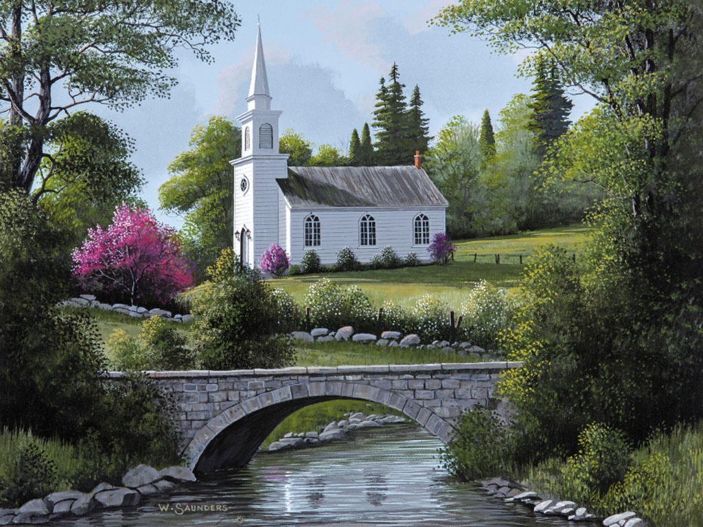 Lang Wallpaper May 2015 Country Churches ART Lang Wallpaper 1024x768