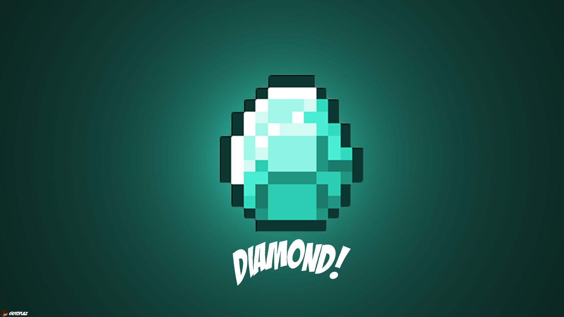 Diamond   Best Minecraft Wallpapers 1920x1080