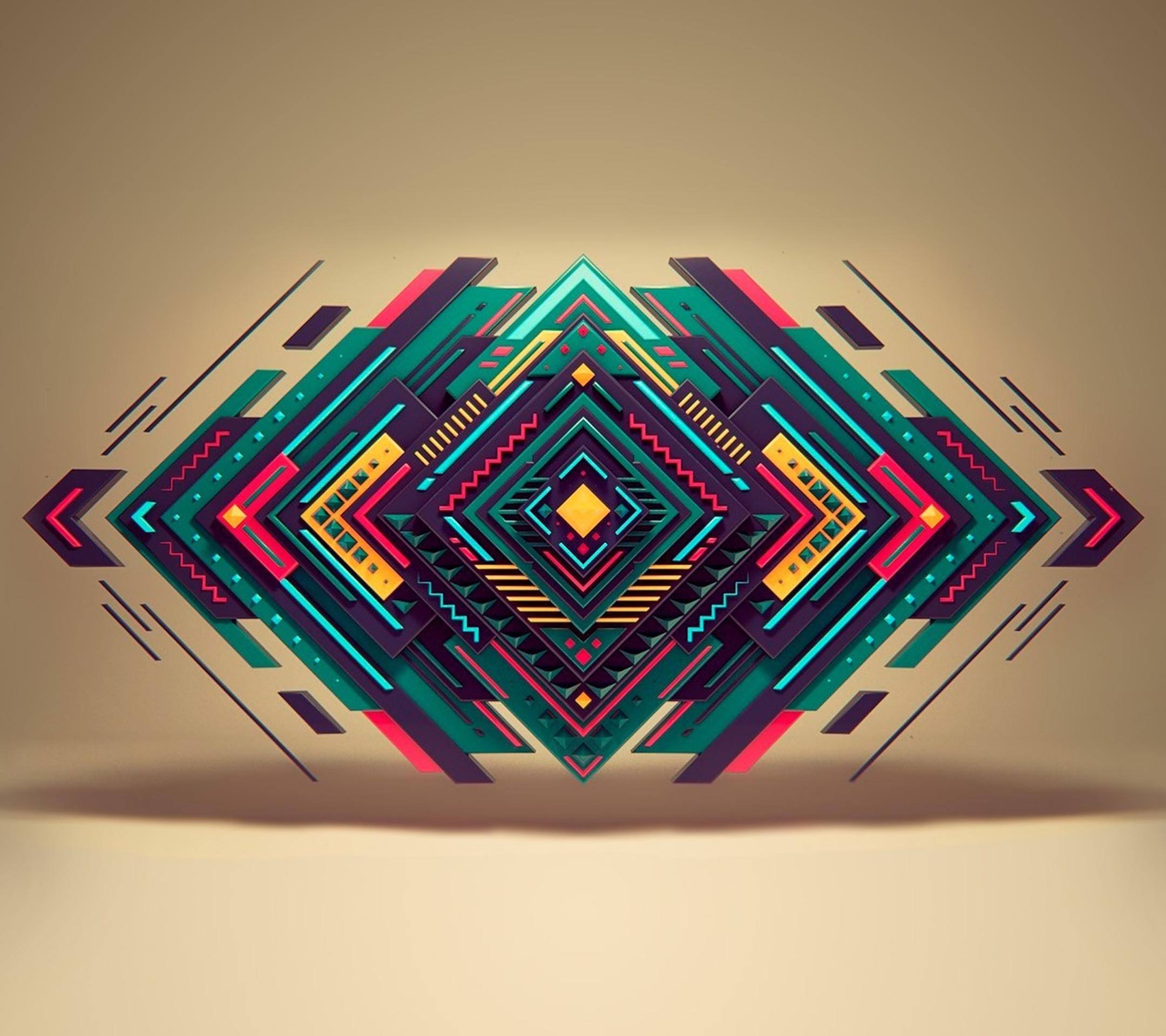 76 Geometric Desktop Wallpapers on WallpaperPlay 2160x1920