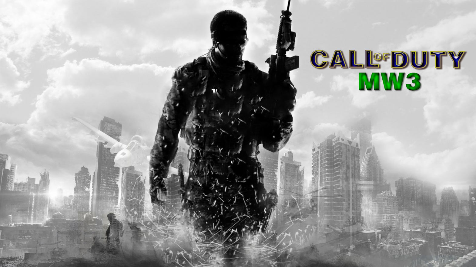 Free Download Wallpaper Juego Call Of Duty Mw3 1570x883 For Your