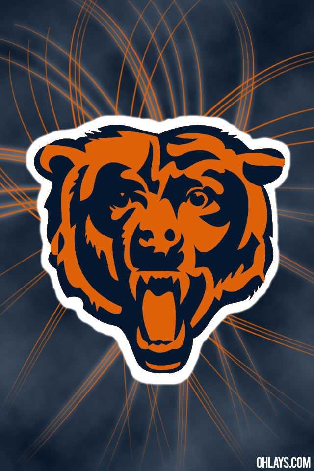 Chicago Bears iPhone Wallpaper 5191 ohLays iPhone Wallpaper 640x960