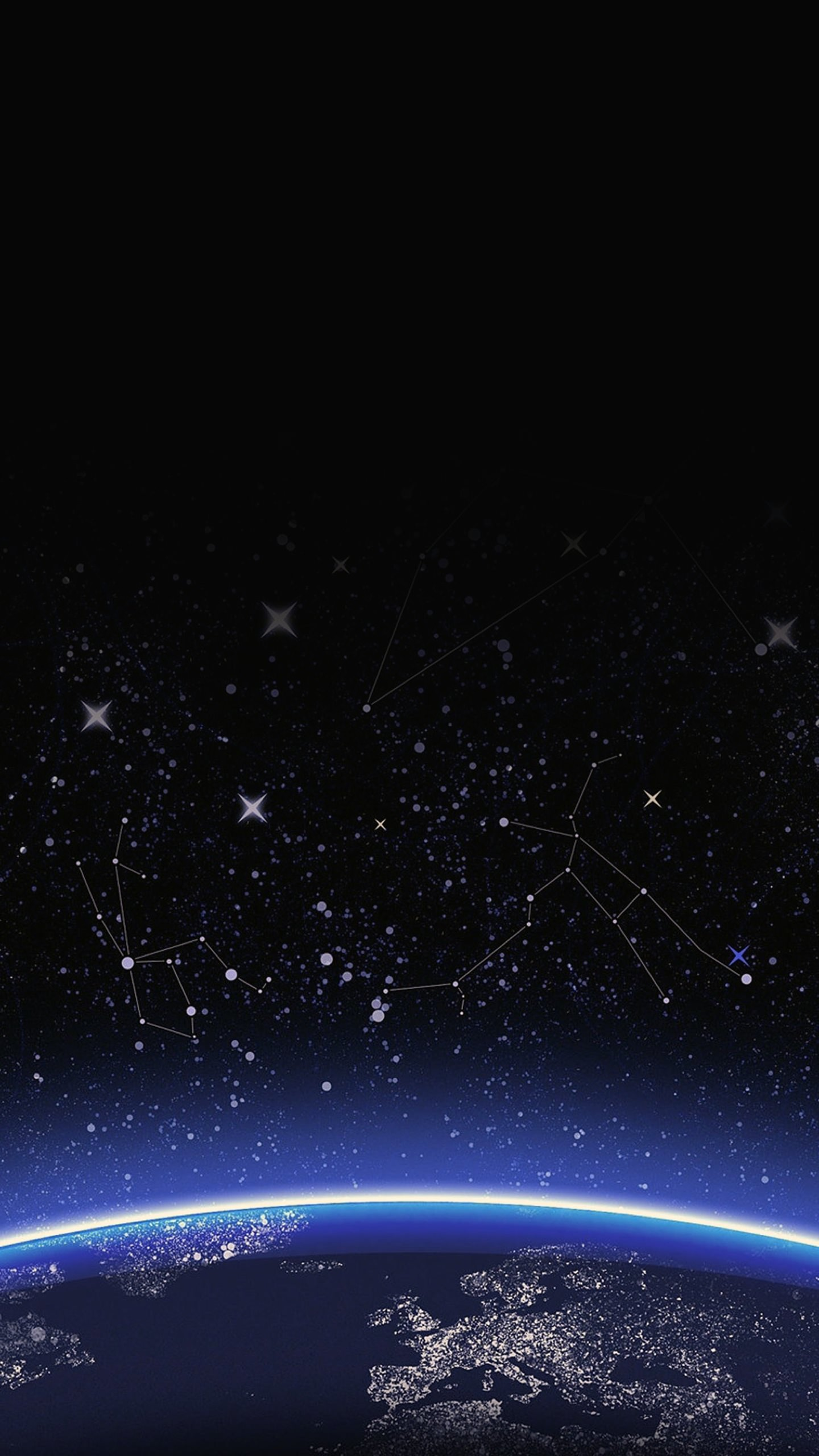 Space Planet Cool Wallpapersc SmartPhone 1440x2560