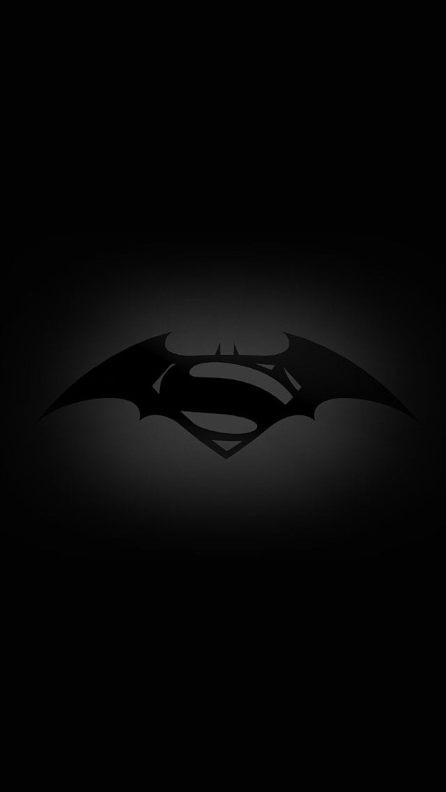 Batman Superman Logo 2013 Wallpaper Hd For Iphone 4 Car 640x1136