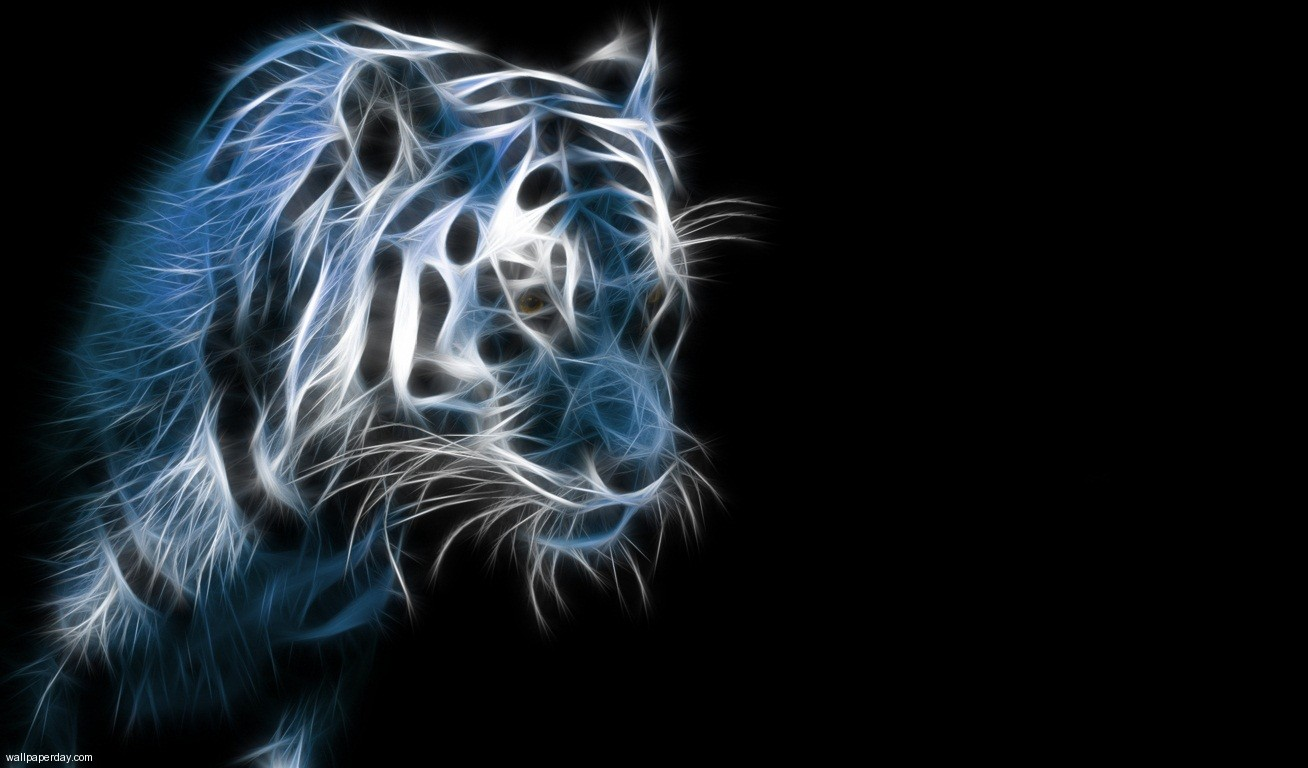 3d Animation Tiger Wallpaper   Only Good Pictures 1308x768