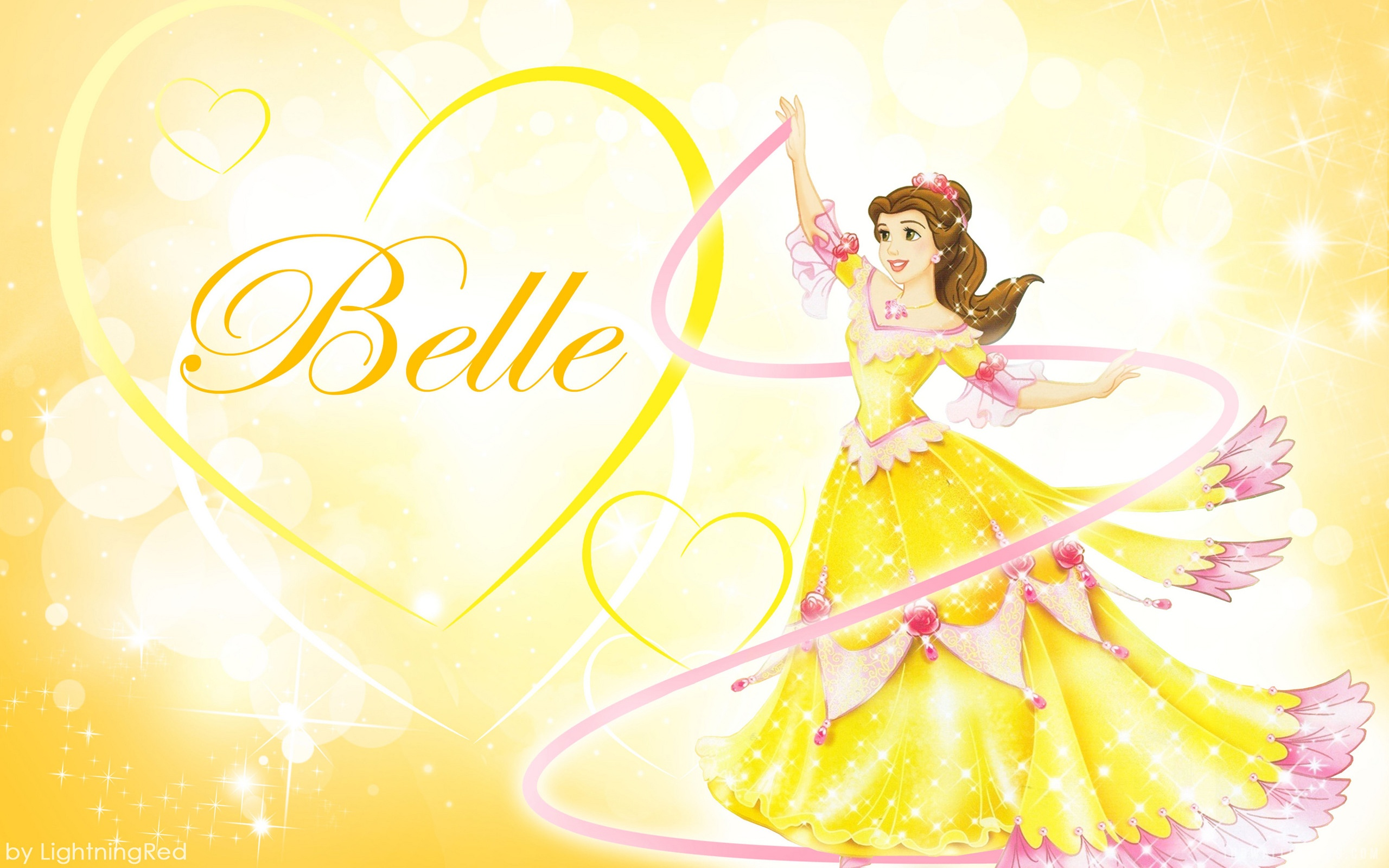 Disney Princess Belle HD Wallpaper   iHD Wallpapers 2560x1600