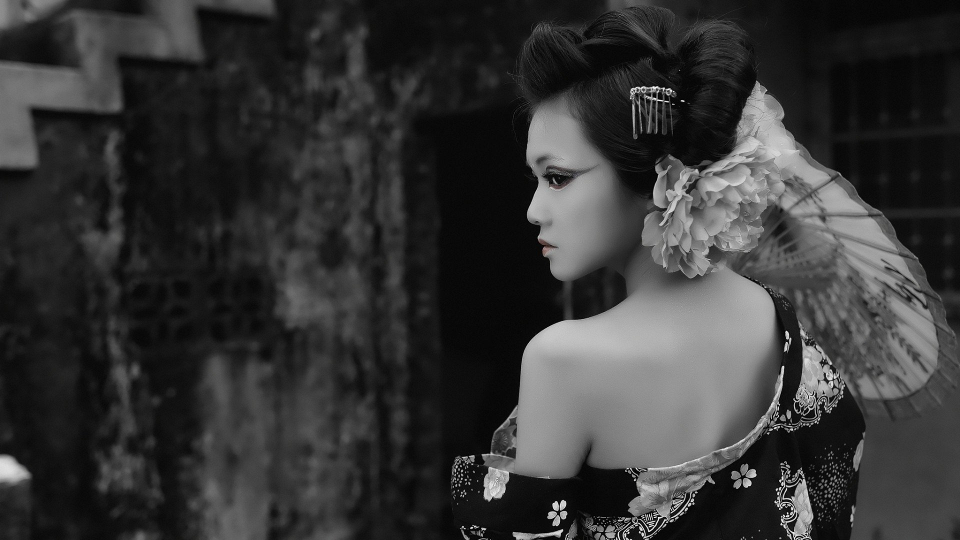 Geisha wallpaper 29534 1920x1080