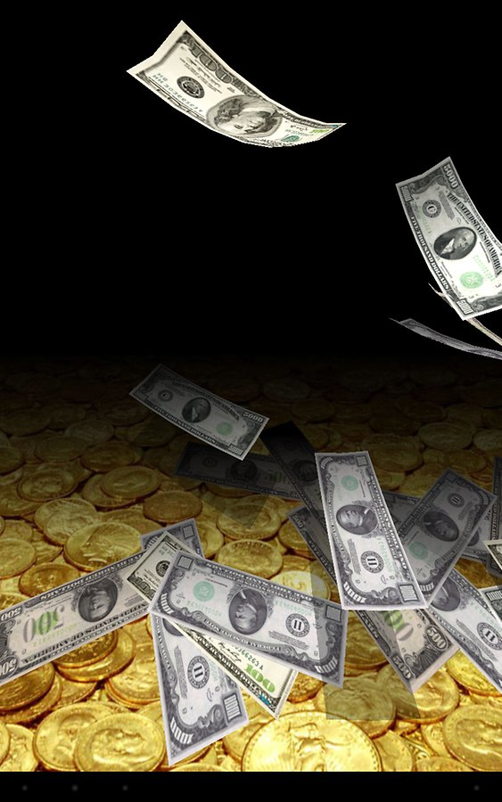 Falling Money 3D Wallpaper   Android Apps and Tests   AndroidPIT 563x900