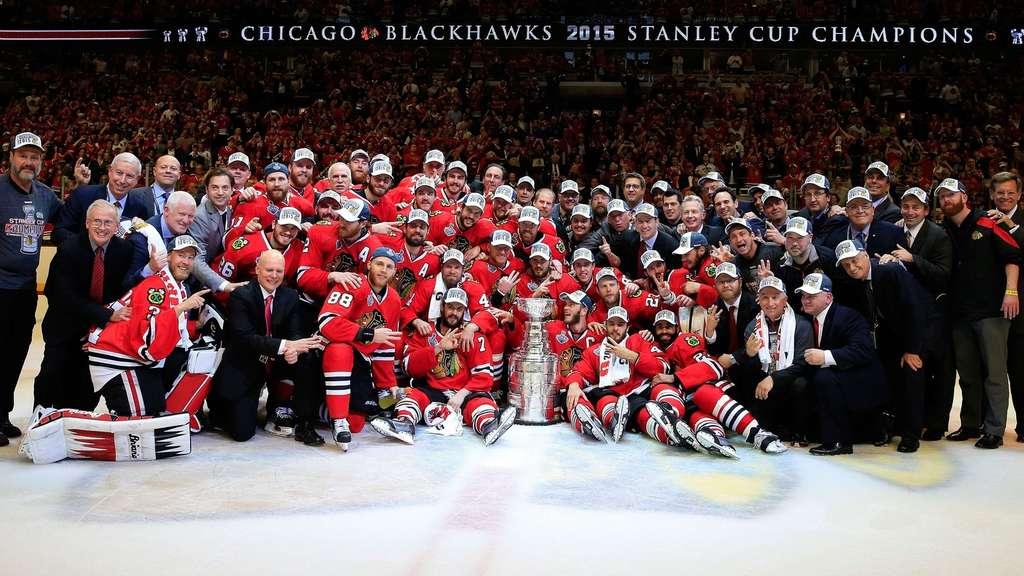NHL Chicago Blackhawks zum sechsten Mal Stanley Cup Champion Sport 1024x576