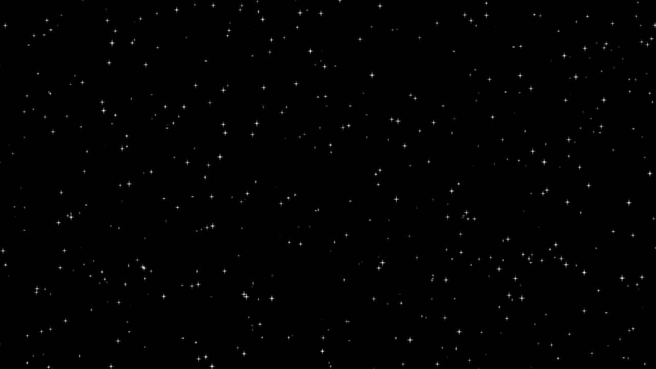 Starry Night Sky Background Loop [free worship loops] 1280x720