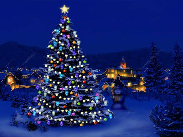 Animated Christmas Wallpaper for Windows 7   Animated Desktop 640x480