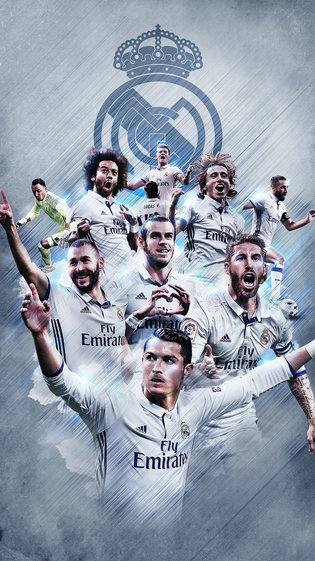 17+] Real Madrid Team 2018 Wallpapers