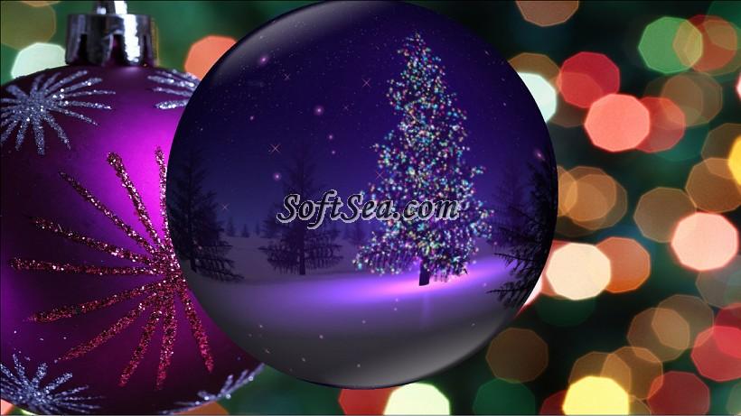 Christmas Globe Animated Wallpaper Screenshot 820x461