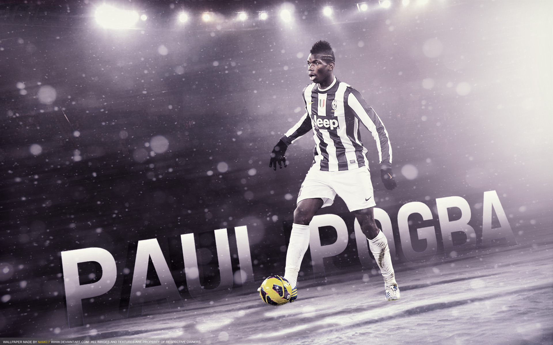 Paul Pogba HD Backgrounds   Football Wallpaper HD Football Picture HD 1920x1200