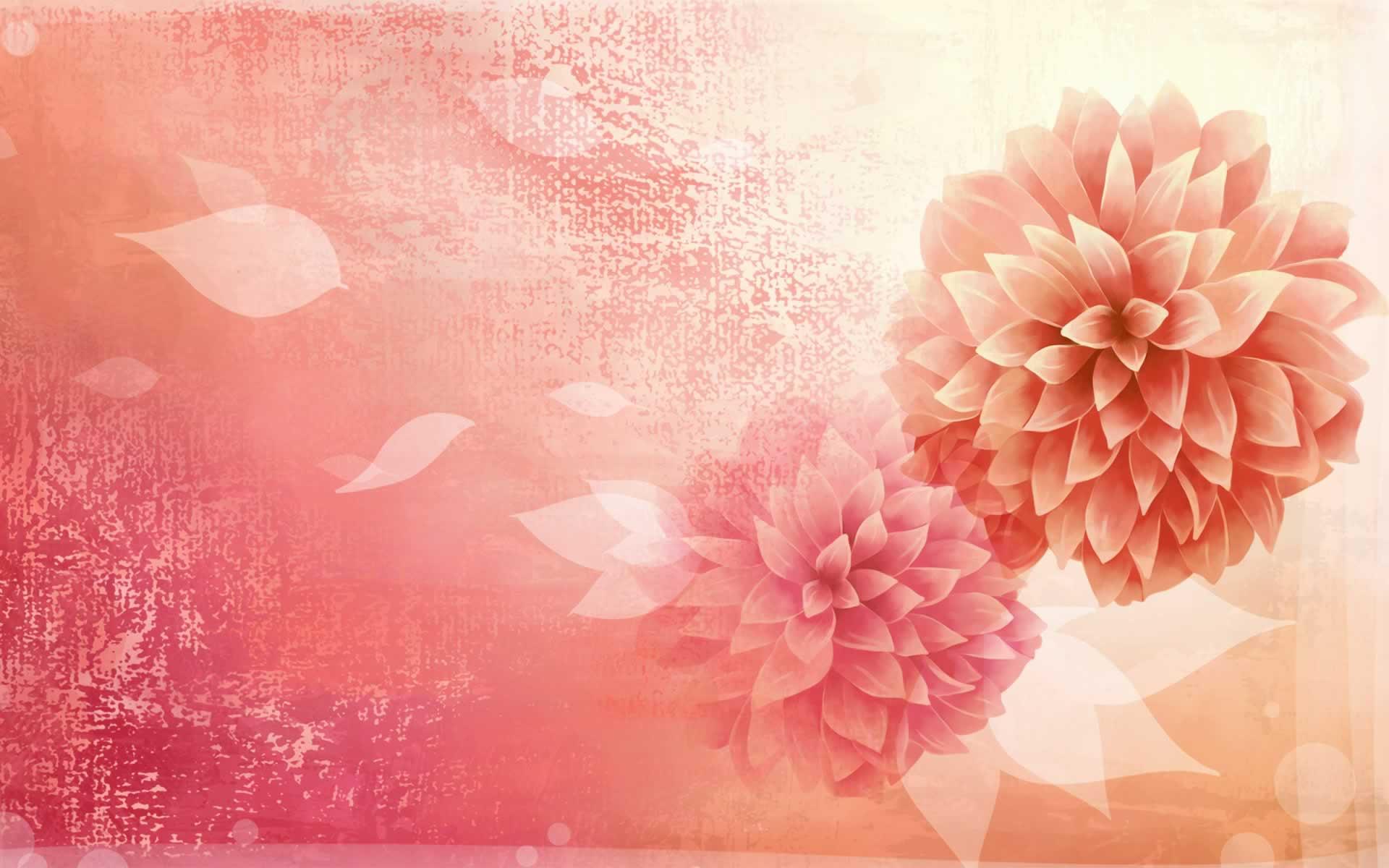 Peonies Wallpaper Desktop WallpaperSafari