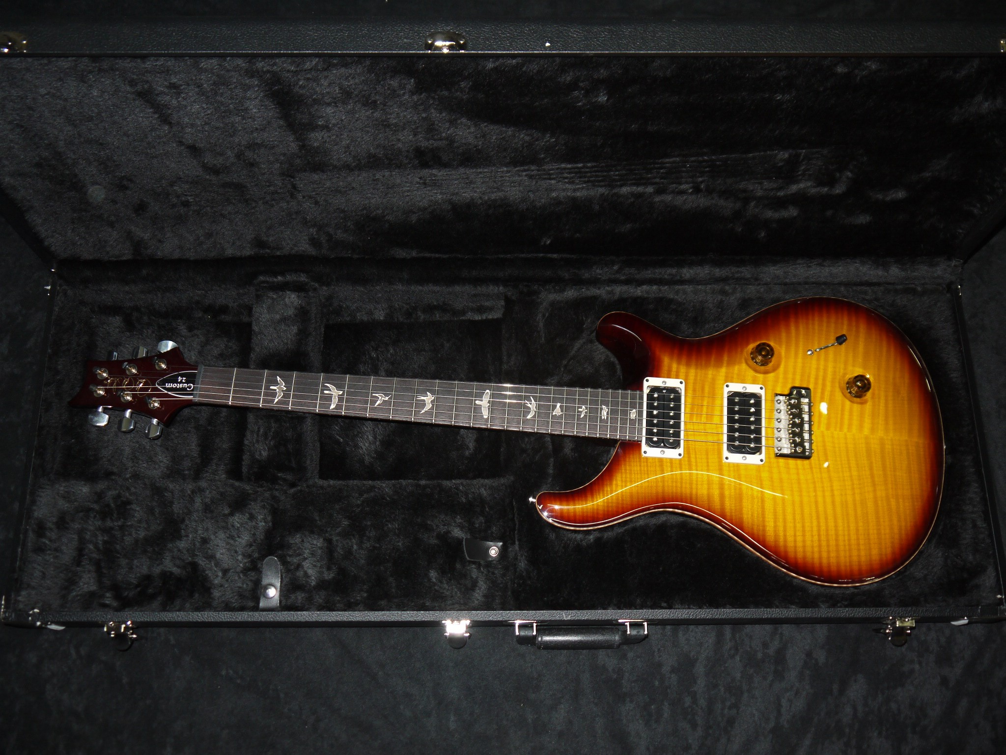 PRS Paul Reed Smith Custom 24 McCarty 2010s Tobacco Sunburst Guitar 2048x1536
