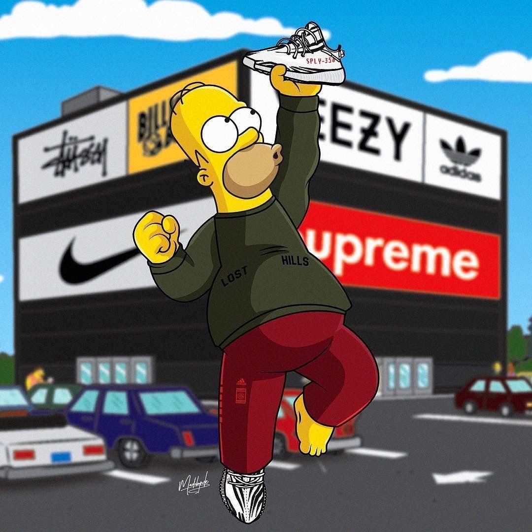 Supreme Bart Simpson Wallpapers   Top Supreme Bart Simpson 1080x1080