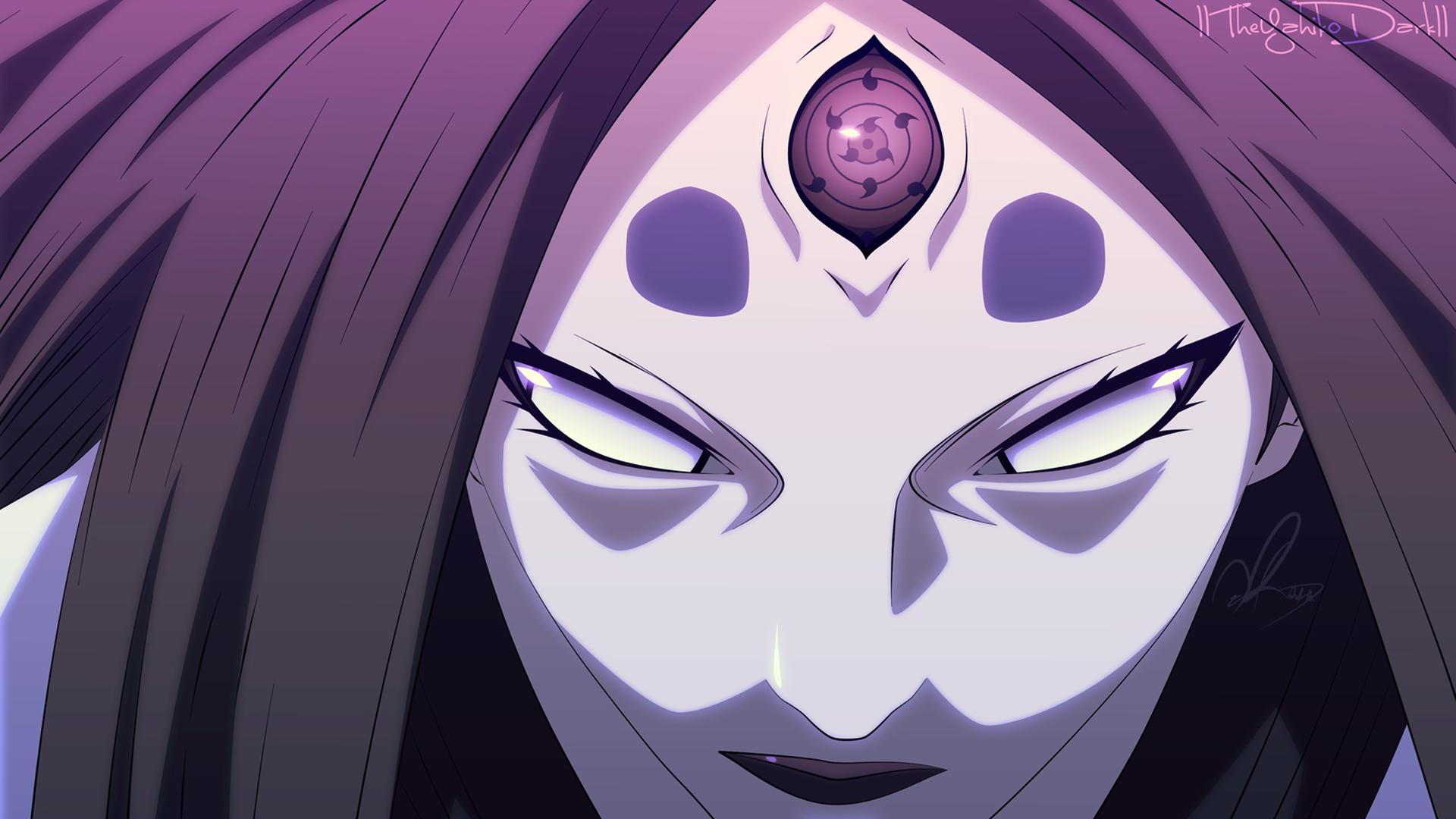 byakugan and rinnegan eyes anime girl hd 1920x1080 1080p wallpaper 1920x1080
