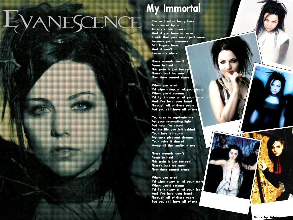 Evanescence images My Immortal Wallpaper wallpaper photos 18882728 1024x768
