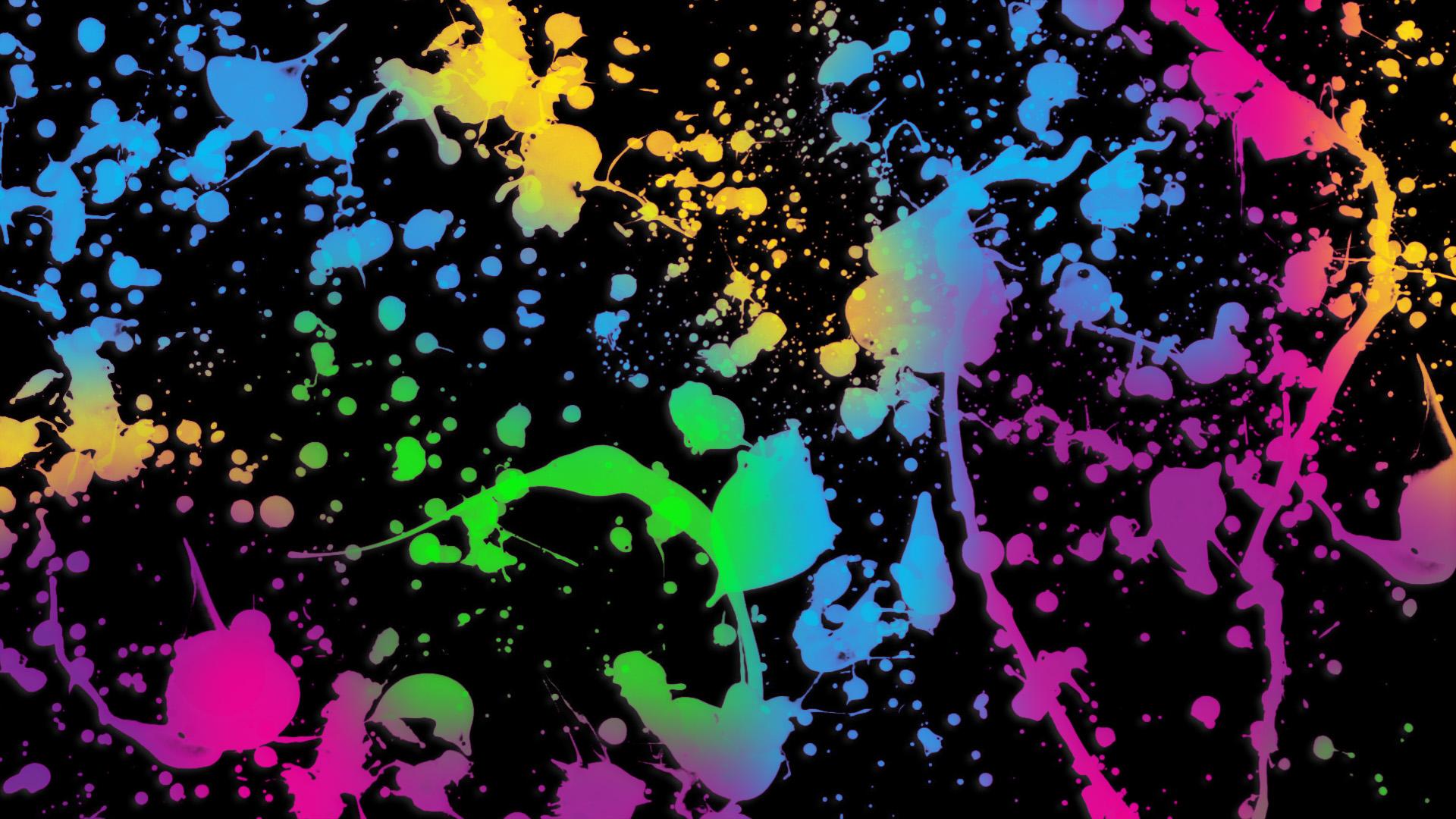 74 Paint Splat Wallpaper On Wallpapersafari