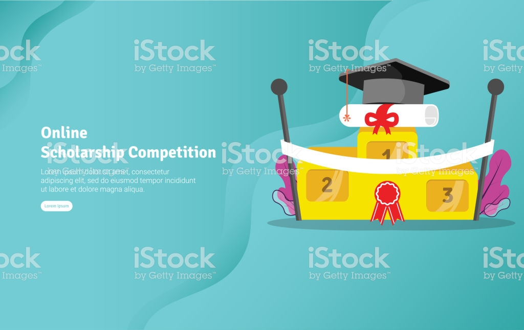 Online Scholarship Concept Educational And Scientific Illustration 1024x646