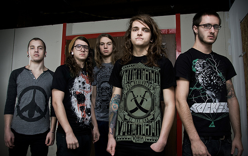 Miss May I wallpaper ALL ABOUT MUSIC 500x314