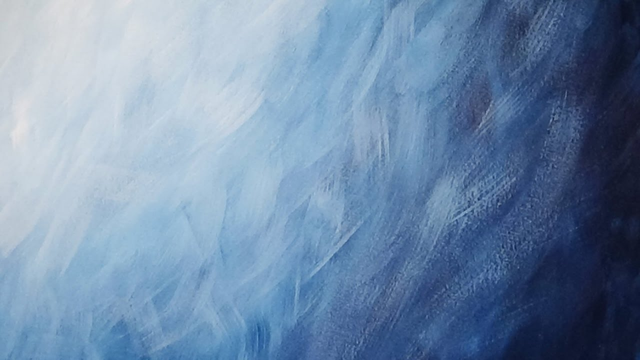 Blue Gradient Abstract Background Painting 1280x720