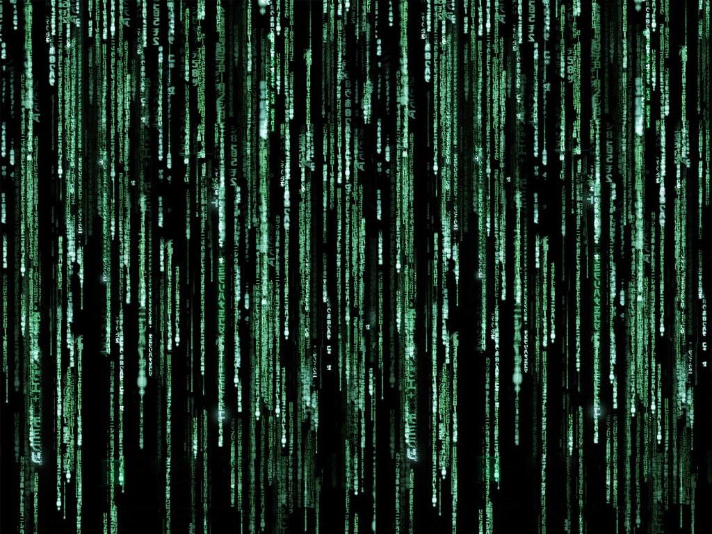 Matrix Code Wallpaper 1024x768 Matrix Code 1024x768