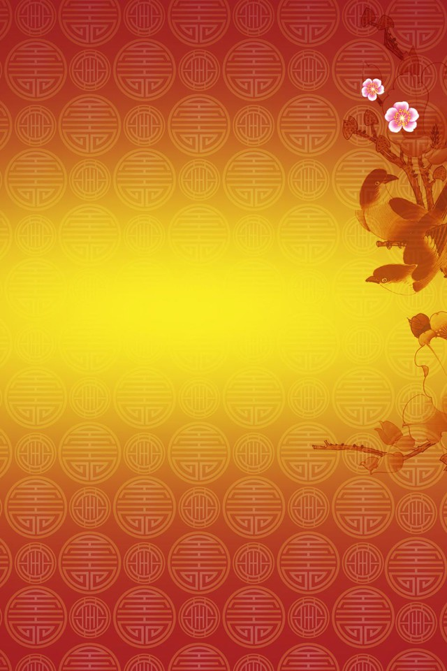 Chinese new year cherry blossom wallpaper AllWallpaper 640x960