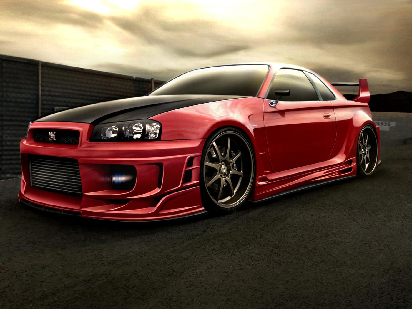 GTR HD Wallpapers Nissan Skyline GTR Photos Cool Wallpapers 1400x1050