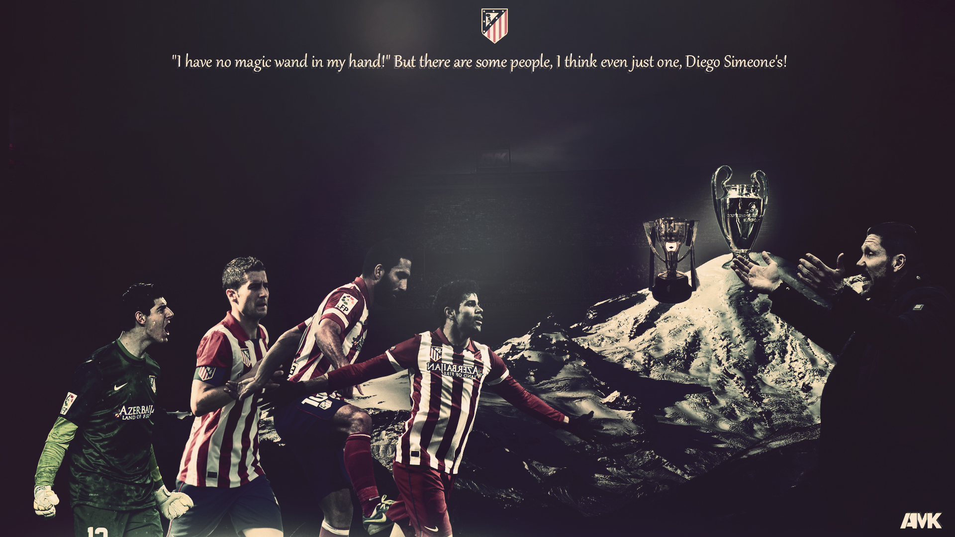Atletico Madrid Background Download 1920x1080
