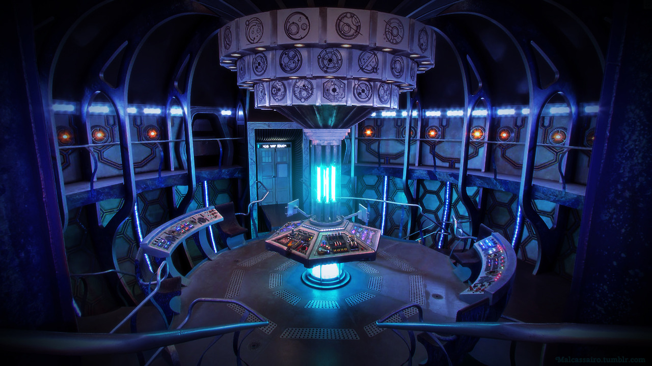 Tardis inside wallpaper wallpapersafari for Interior wallpaper