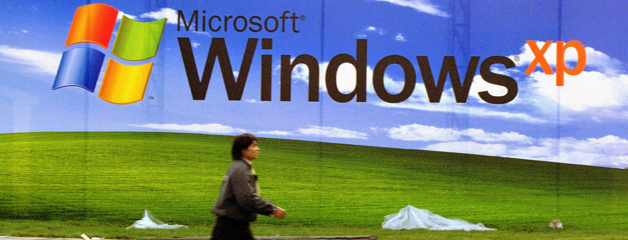 Ever wonder where the Windows XP default wallpaper came from 2000x767
