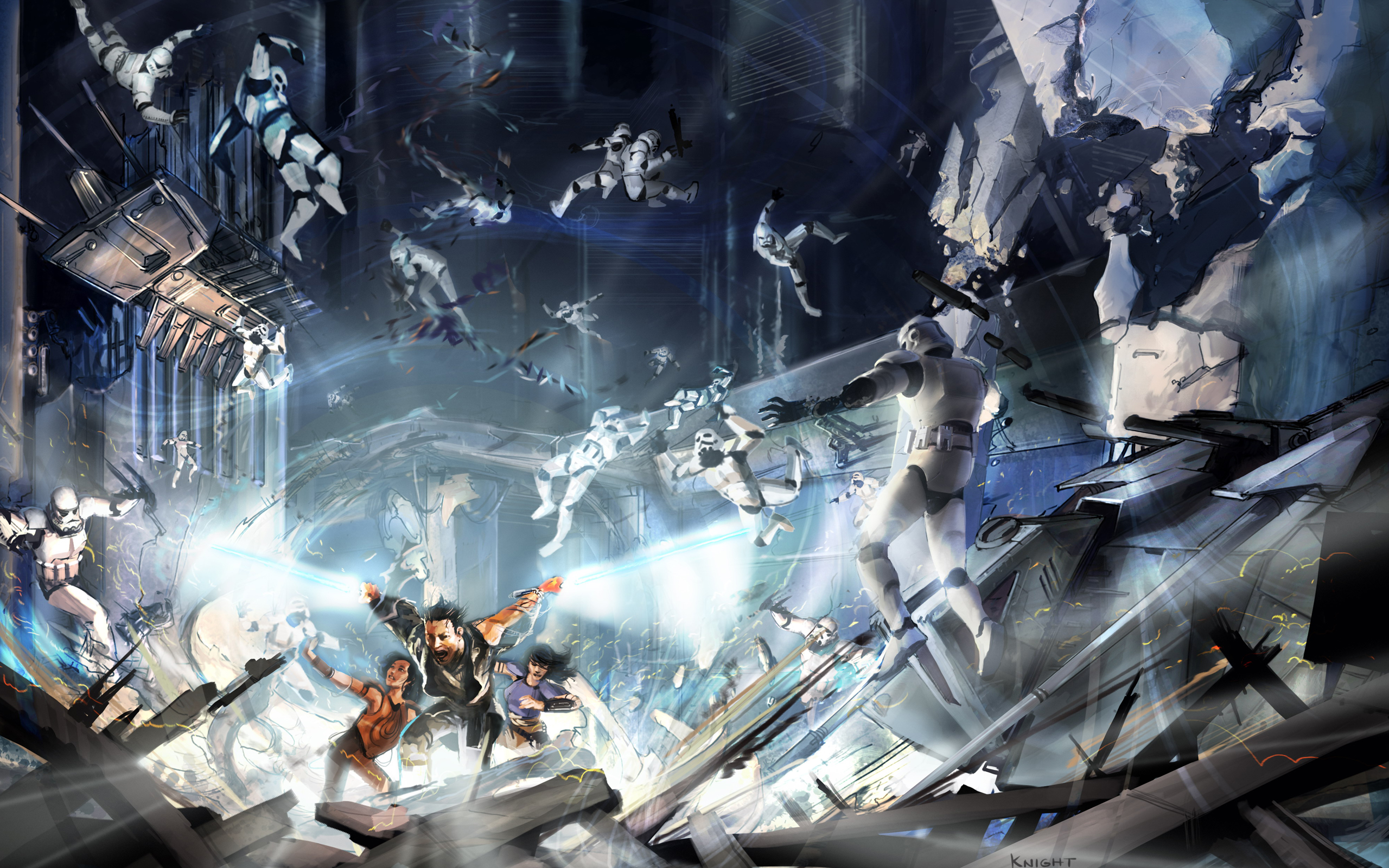 Stormtroopers Lightsabers Wallpaper 2560x1600 Stormtroopers 2560x1600