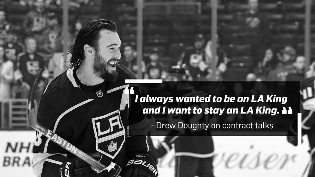 Drew Doughty Says He Wants to Stay with LA Kings Team has More 1024x576