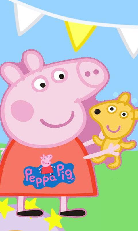 Peppa Pig Wallp screenshot thumbnail 2 480x800