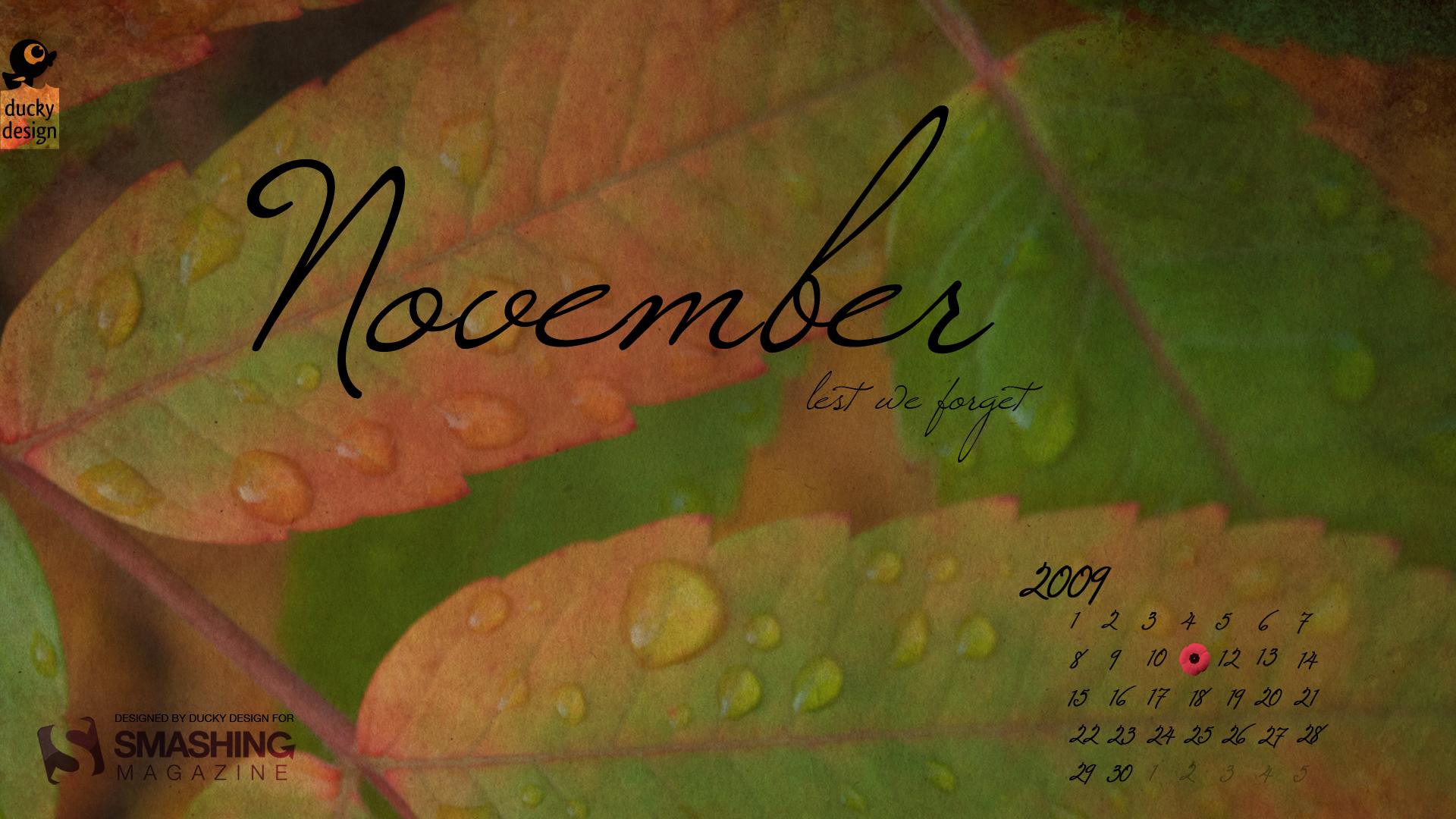 немецкой картинки с надписью ноябрь на рабочий стол смотрятся группы, которых