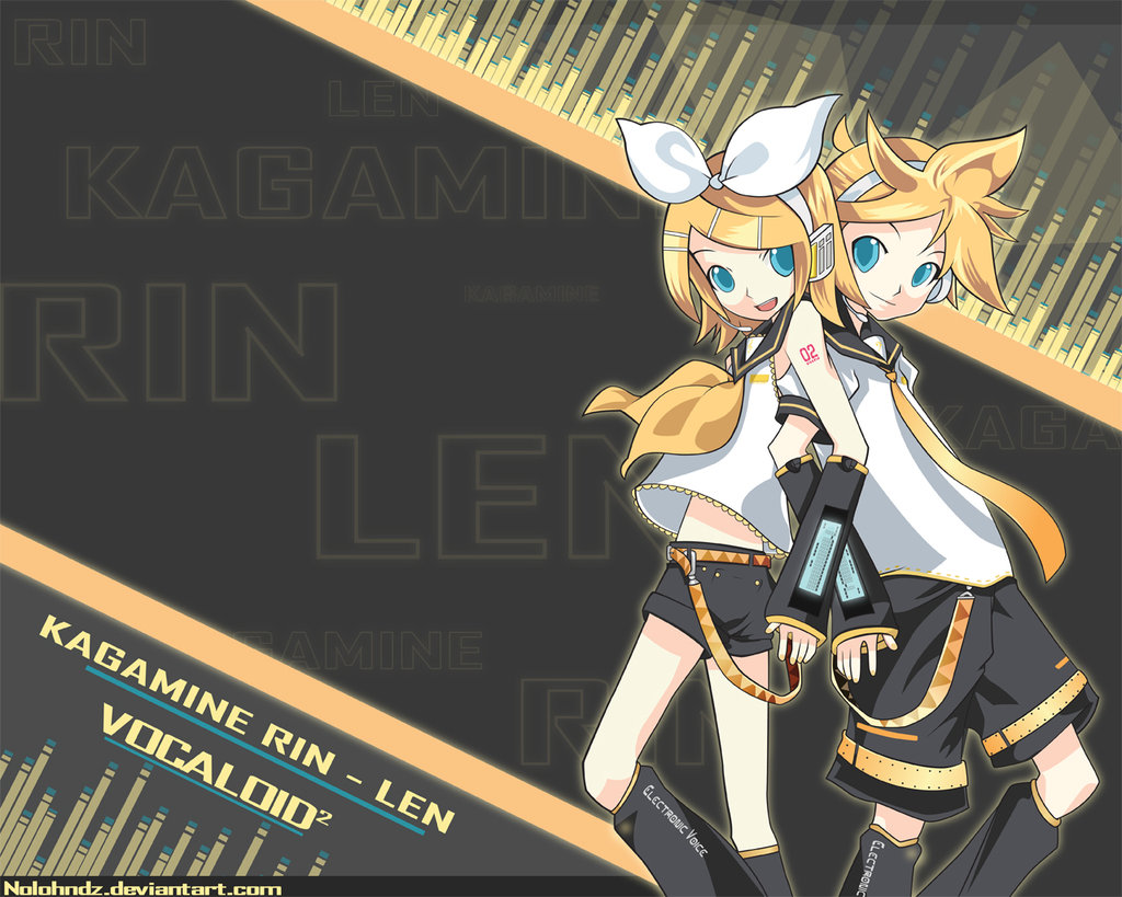 Rin And Len Kagamine Wallpaper 1024x819
