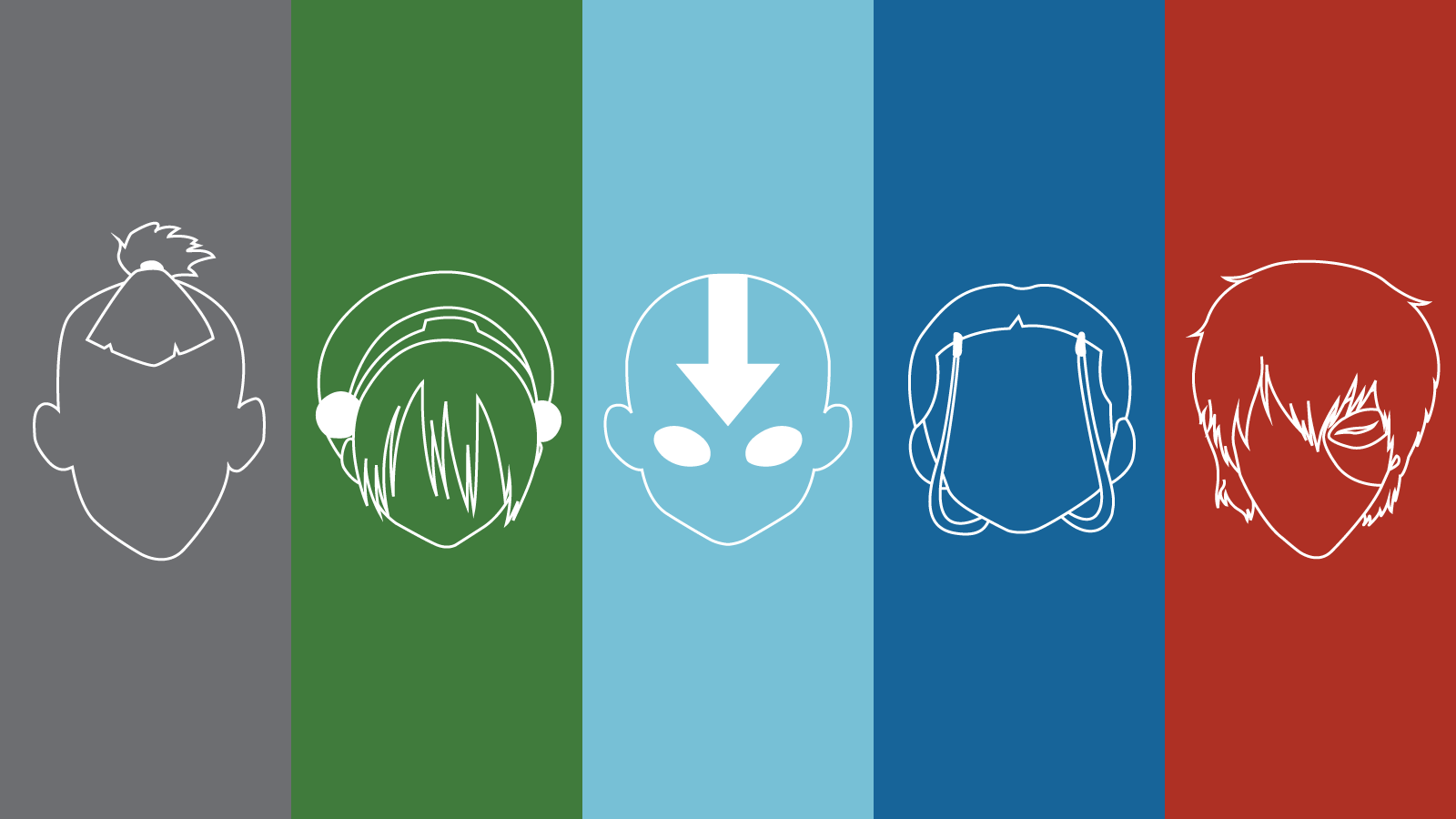 Avatar the Last Airbender Wallpapers Nathan Thomson Design 1600x900