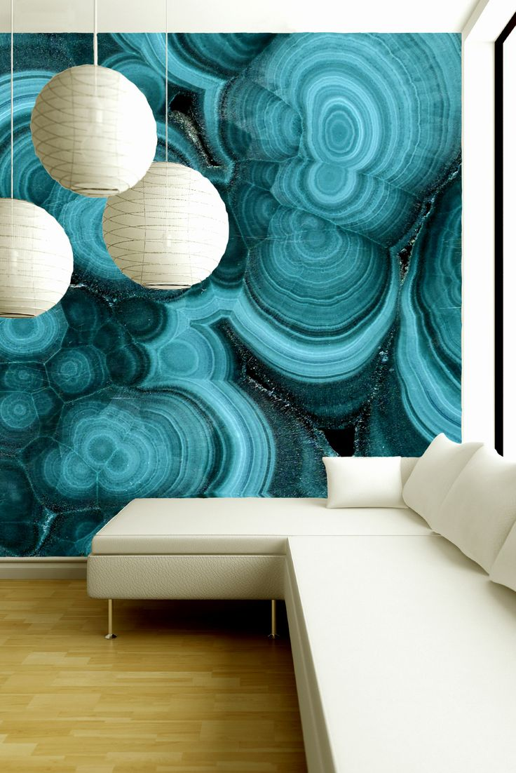 We are infatuated with this new wallpaper from Brenda Houston Design 736x1102