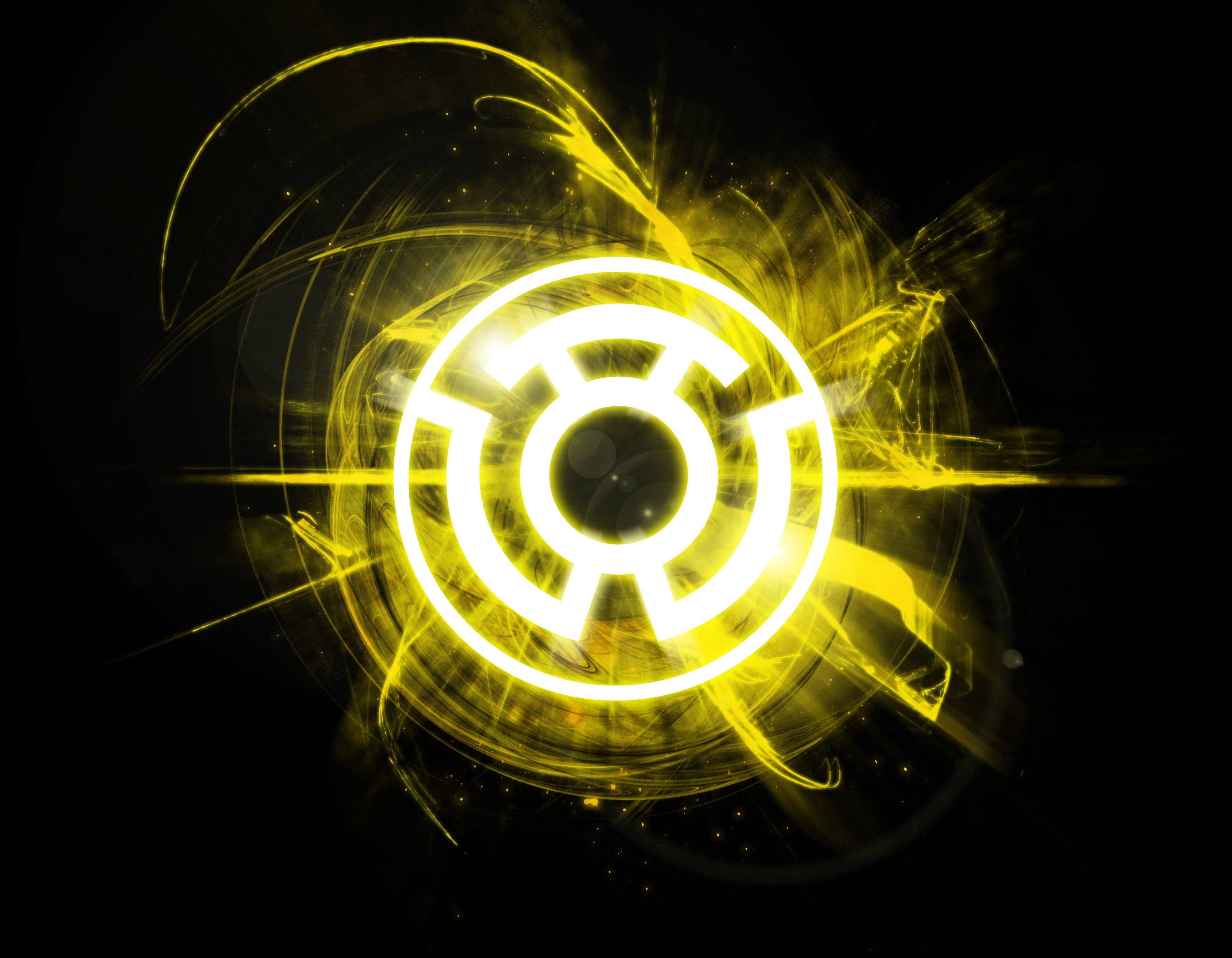 yellow lantern logo - HD 3543×2756