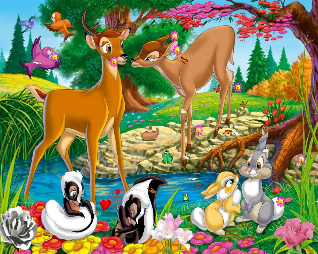 Disney Screensaver imgenes capturas de pantalla 1280x1024