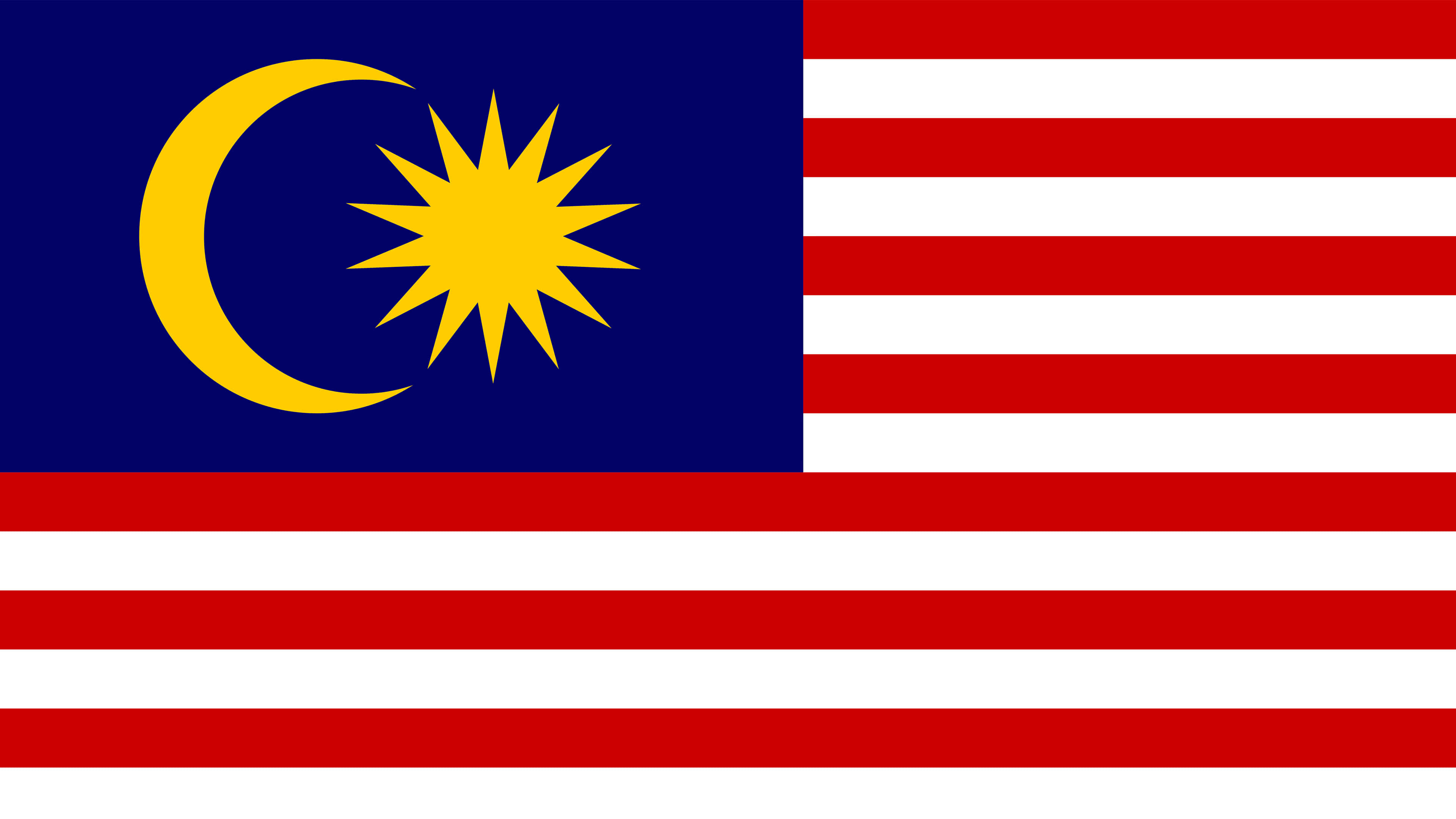 Malaysia Flag UHD 4K Wallpaper Pixelz 3840x2160