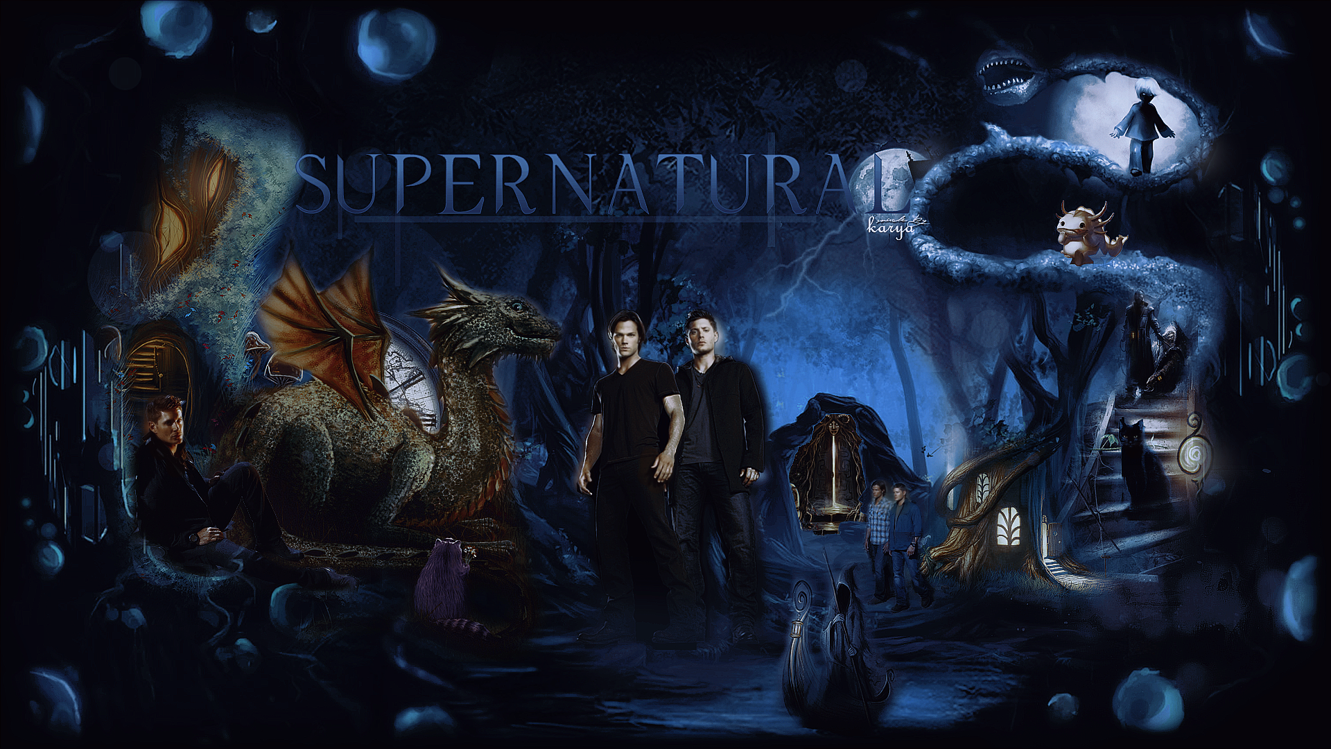 supernatural wallpaper livejournal justromanova photo 1920x1080