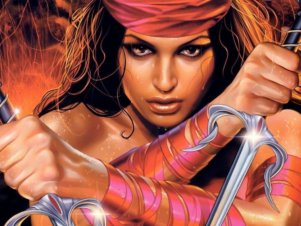 Best 49 Elektra Wallpaper on HipWallpaper Daredevil Elektra 1024x768