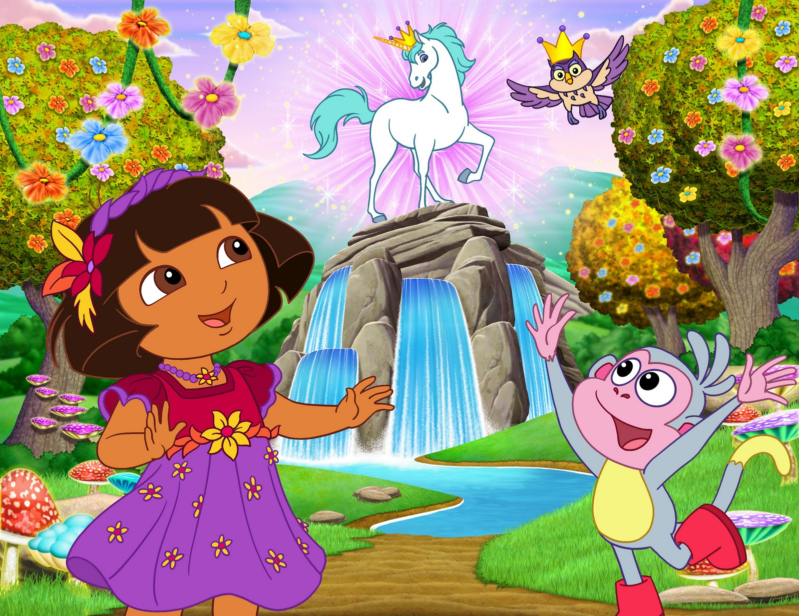 Dora the Explorer r wallpaper 1600x1233 184636 1600x1233