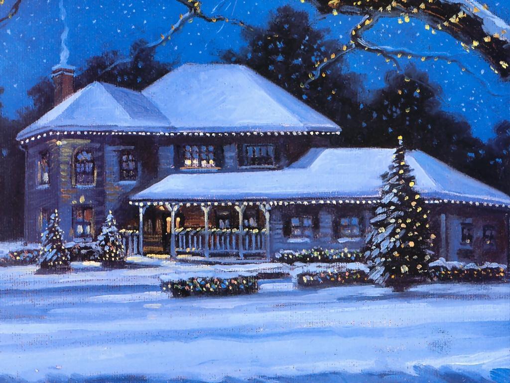 christmas desktop wallpaper Winter Desktop Wallpaper 1024x768
