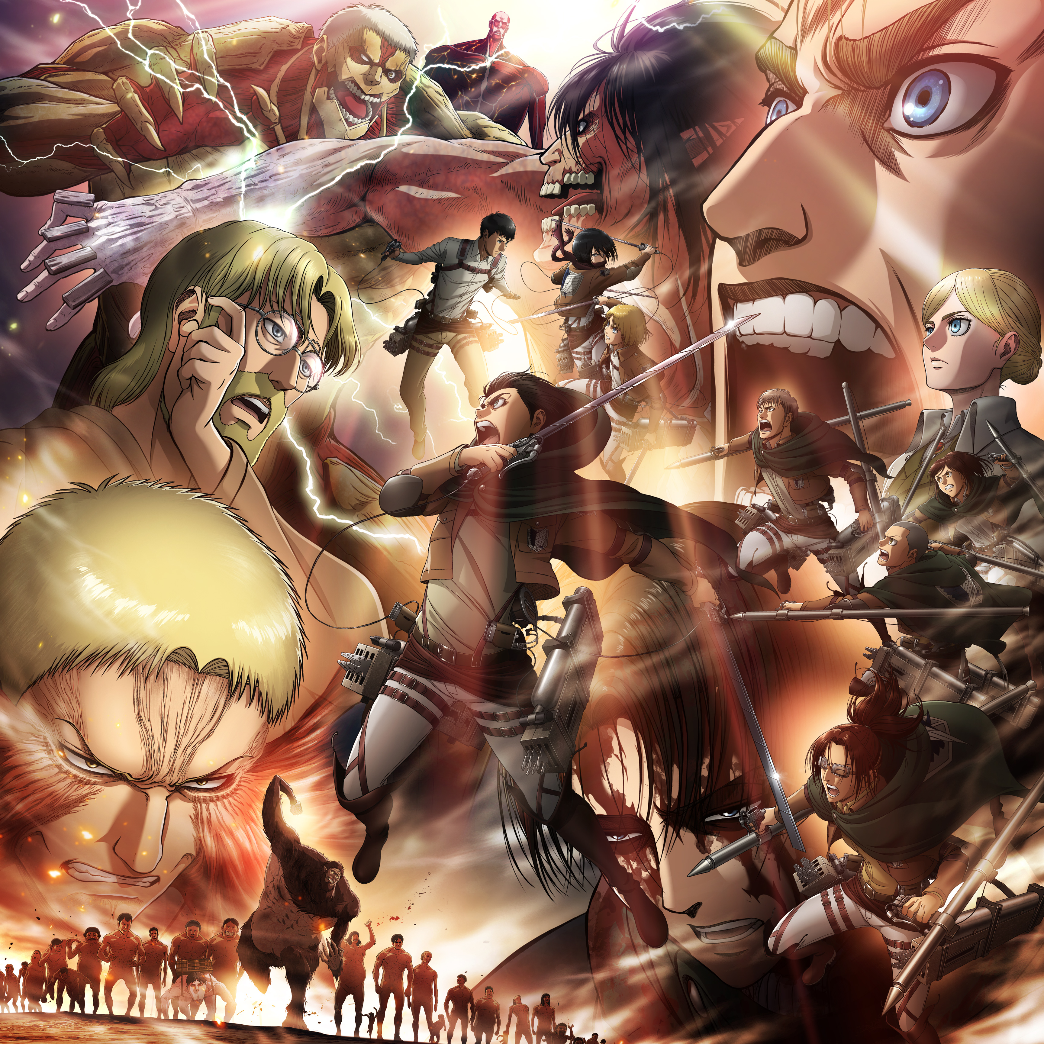 Attack On Titan Final Season   3456x3456 Wallpaper   teahubio 3456x3456